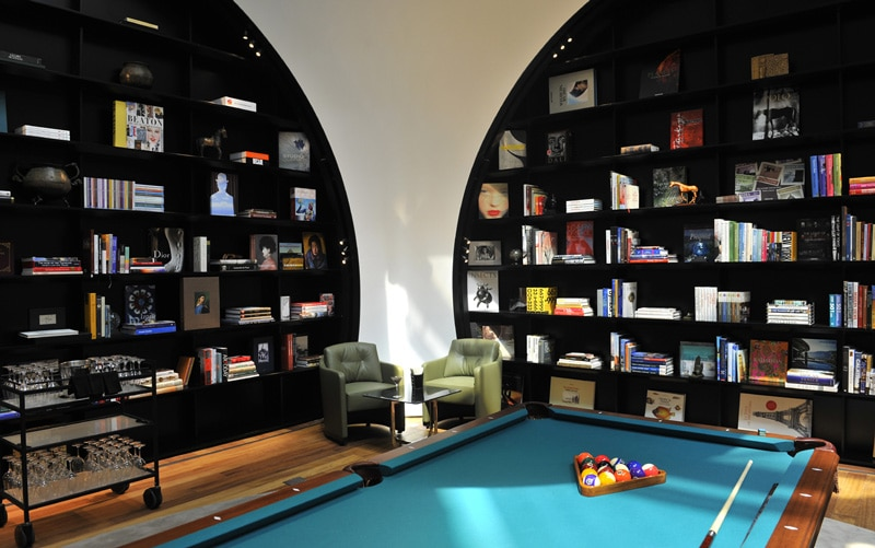 The VIP lounge in Istanbul.