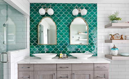 Piece By Piece: Forging a Clean Tile Aesthetic