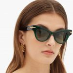 bottega veneta cat eye sunglasses alo