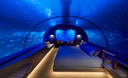 The Ultimate in Social Distancing: Sleeping Underwater