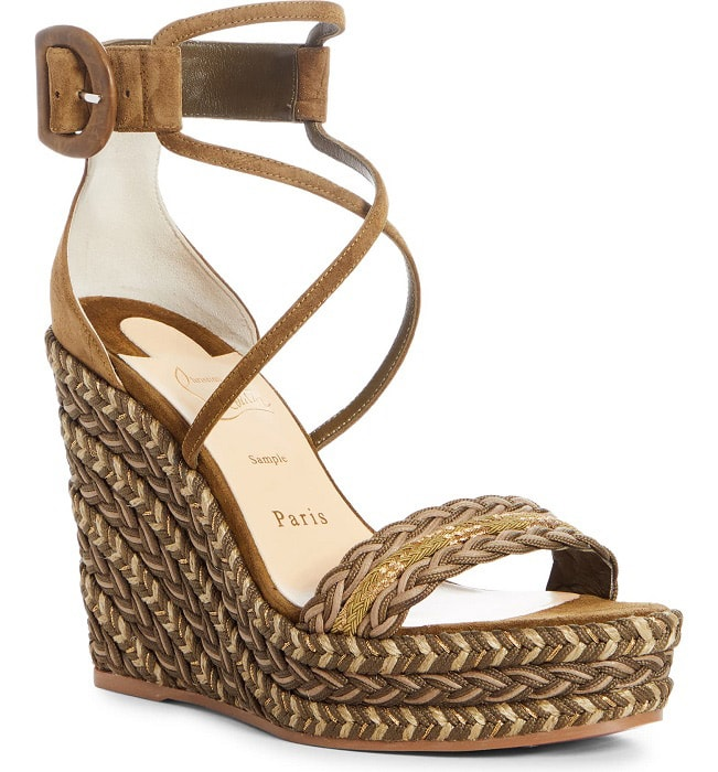christian louboutin wedge sandals alo magazine