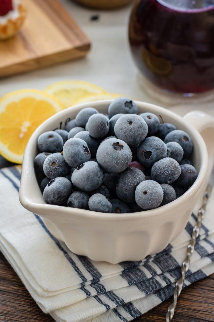 Frozen Blueberry - ALO Magazine